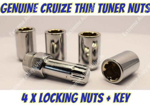 Locking Wheel Nuts S Tuner M12x1.5 For Honda Accord Ascot Beat Brio Capa Civic