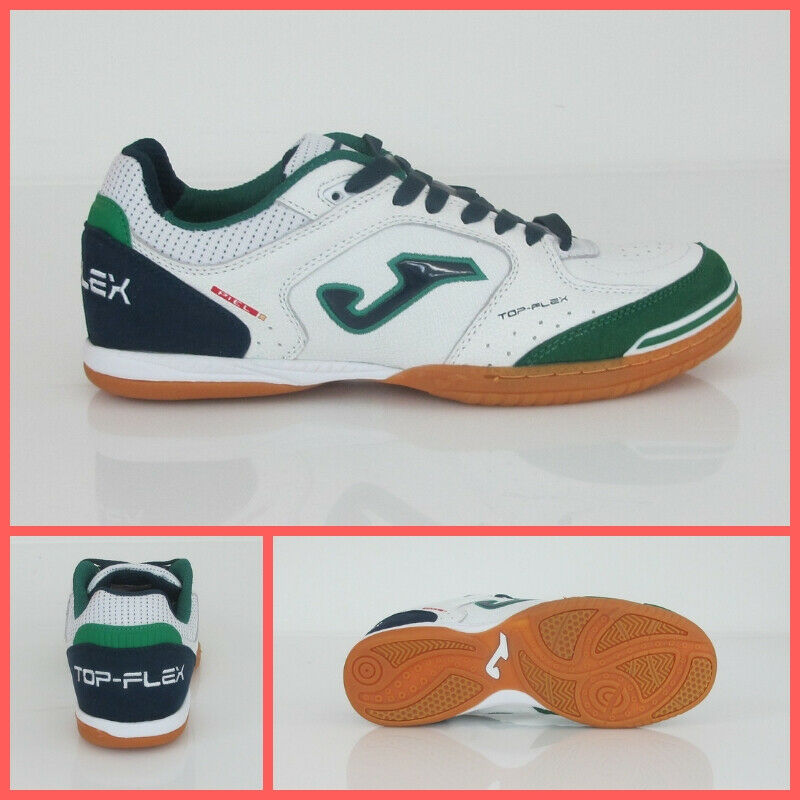 Joma schoenen Indor Soccer Futsal Top Flex 915 TOPW.932.IN wit groen Aug 2019
