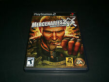 """Mercenaries 2: World in Flames (PlayStation 2) Complete """"Great Condition"""""""