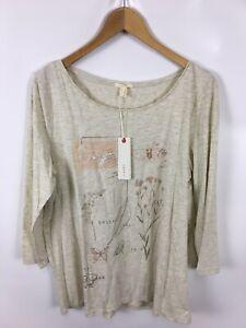 ESPRIT-Damen-Shirt-Groesse-XL-Mehrfarbig-Baumwolle