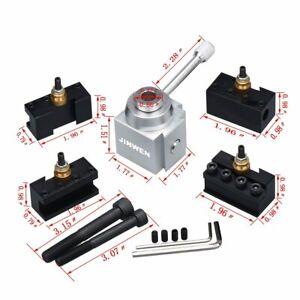 Jinwen-Tooling-Package-Mini-Lathe-Quick-Change-Tool-Post-amp-Holders-Multifid-New