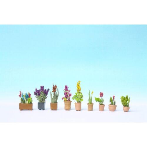 Encore 14012-h0 1:87 plantes ornementales en petits pots de fleurs-Neuf dans neuf dans sa boîte