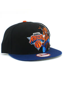 check out b9014 d3bbc Image is loading New-Era-NBA-New-York-Knicks-9fifty-Snapback-