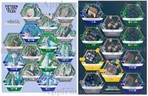 Suburbia-Collector-039-s-Edition-Promo-Tiles-15-City-CE-amp-Kickstarter-Set-Dice-Tower