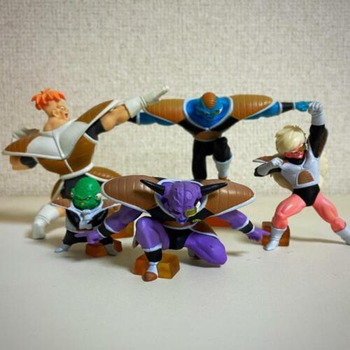 Bandai HG High Grade Dragon Ball GINYU FORCE Set of 5 Figure Premium Japan used
