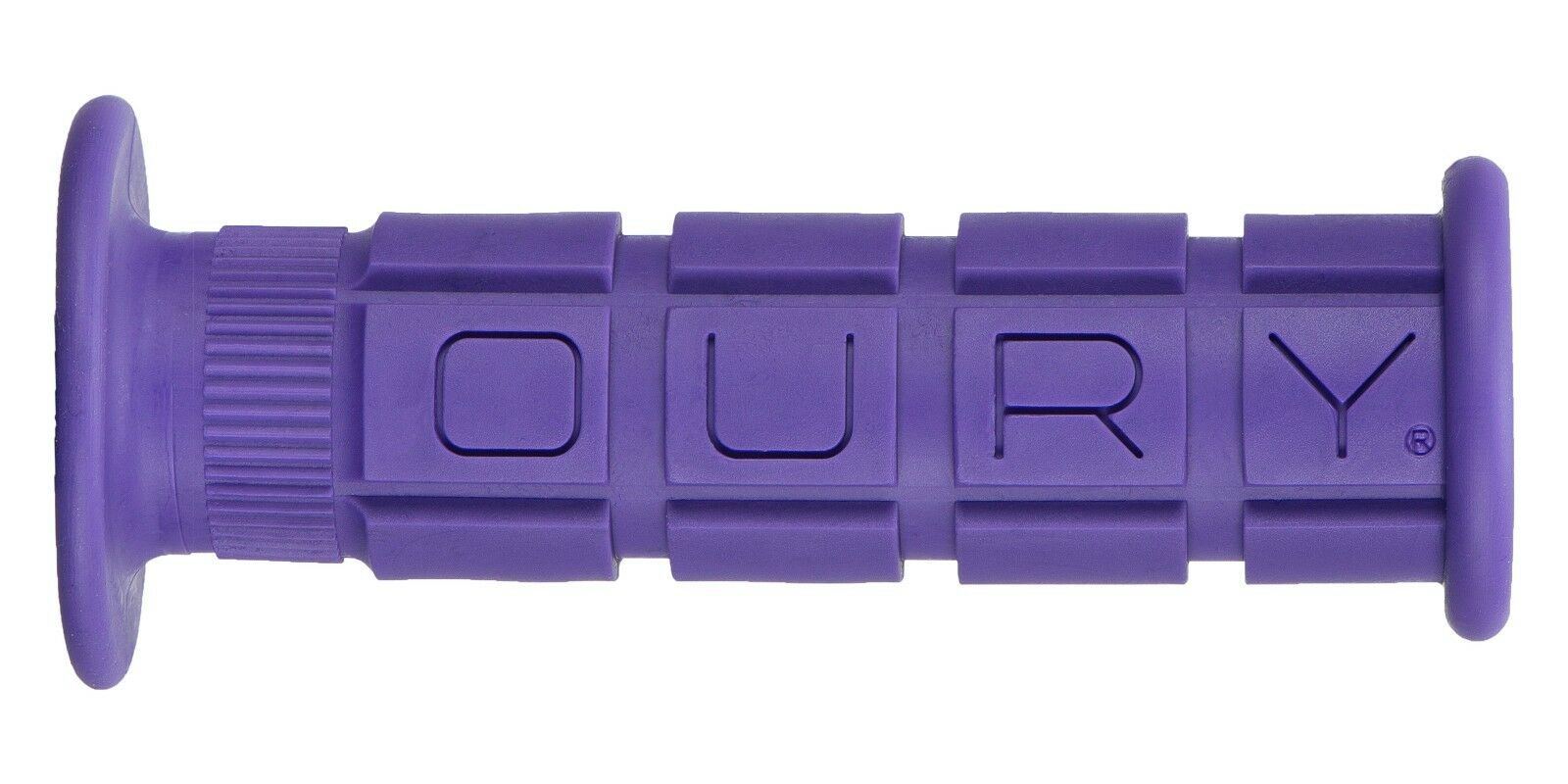OURY MOUNTAIN PURPLE BMX-MTB BICYCLE GRIPS