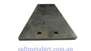 Trailer coupling 4 hole weld on 8mm mounting plate