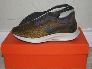 6a16fd17ab10e Nike Air Zoom Pegasus 35 Grey   Citron Mens Size 6 DS NEW! 942851 ...