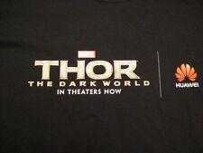 NEW Marvel Comics THOR The Dark World 2013 Movie Promo T Shirt XL