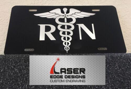 Aluminum License Plate Fire Rescue First Responder Registered Nurse RN EMS EMT