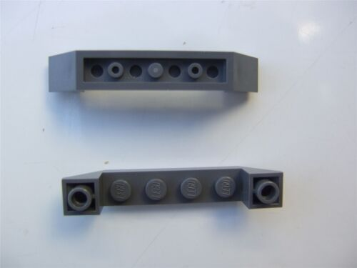 2 x Lego Grey INVERTED ROOF TILE 6X1X1-4294180 Parts /& Pieces