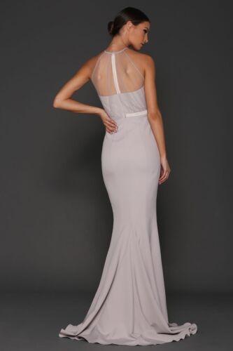 8 longue Robe Elle de argentᄄᆭe taille crᄄᆭateur d'honneur demoiselle Zeitoune de FTJ1clK