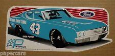 Richard Petty 1969 Ford Gran Torino 429 Cobra Jet Racing Fastback sticker NEW