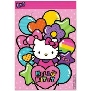 Hello Kitty Rainbow Treat Loot Party Favor Bags 8 Count Birthday ... f43a0f5fe8ae5