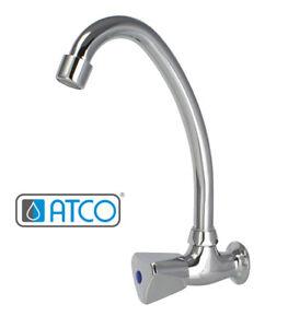 Atco Wandventil Wandarmatur Kaltwasser Spultisch Armatur Wasserhahn