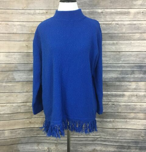 Willow Ridge Blue Sweater (Size: MP)