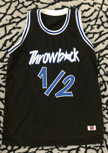 c4710b08a Mr. Throwback L.P. 1 2 Jersey Stitched Size XL Rare Orlando Magic ...