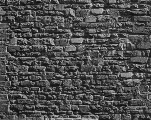16 SHEETS EMBOSSED BUMPY BRICK stone paper 21x29cm SCALE 1//87 HO j3e3