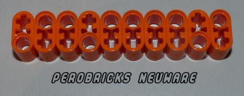 Lego Technic Technique 10 Liftarme 2 trous avec kreuzloch #60483 Orange Article Neuf