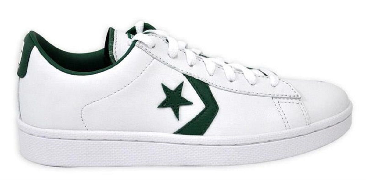 Scarpe Scarpe Scarpe casual da uomo NIB Converse Pro Leather Ox White / Green 136762C US uomos 10 ac1add