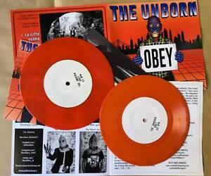 THE-UNBORN-034-OBEY-034-7-034-33rpm-Ltd-EDITION-ORANGE-VINYL-NEW-ITA-OI-STREPUNK