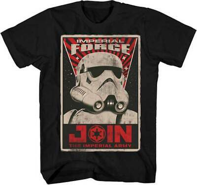 Star Wars Force Awakens Heroes /& Villains Sublimation Men/'s T-Shirt