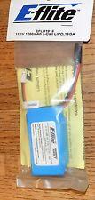 E-flite EFLB1016 1200mAh 11.1v 3 Cell LiPo 16GA Battery NIP