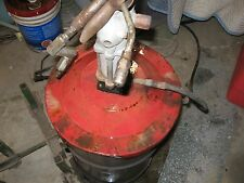 used air operated grease pump lincoln  120lbs drum kit 10ft high prtessure hose