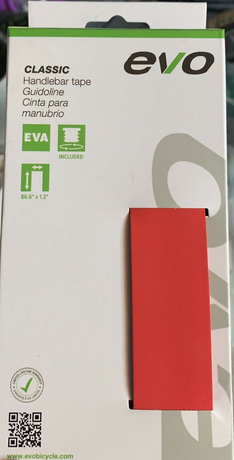 40x  Evo Classic Tape Red Eva Foam Handlebar bicycle