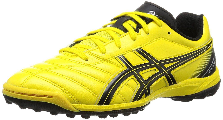 Asics zapatos de entrenamiento de fútbol indoor DS Light 2 TF SL Amarillo Negro US7.5 (25.5 Cm)