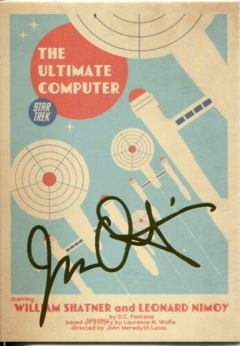 Star Trek Portfolio Prints Gold Parallel Base Card  54 The Ultimate Computer