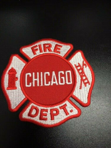 CHICAGO FIRE DEPT PATCH