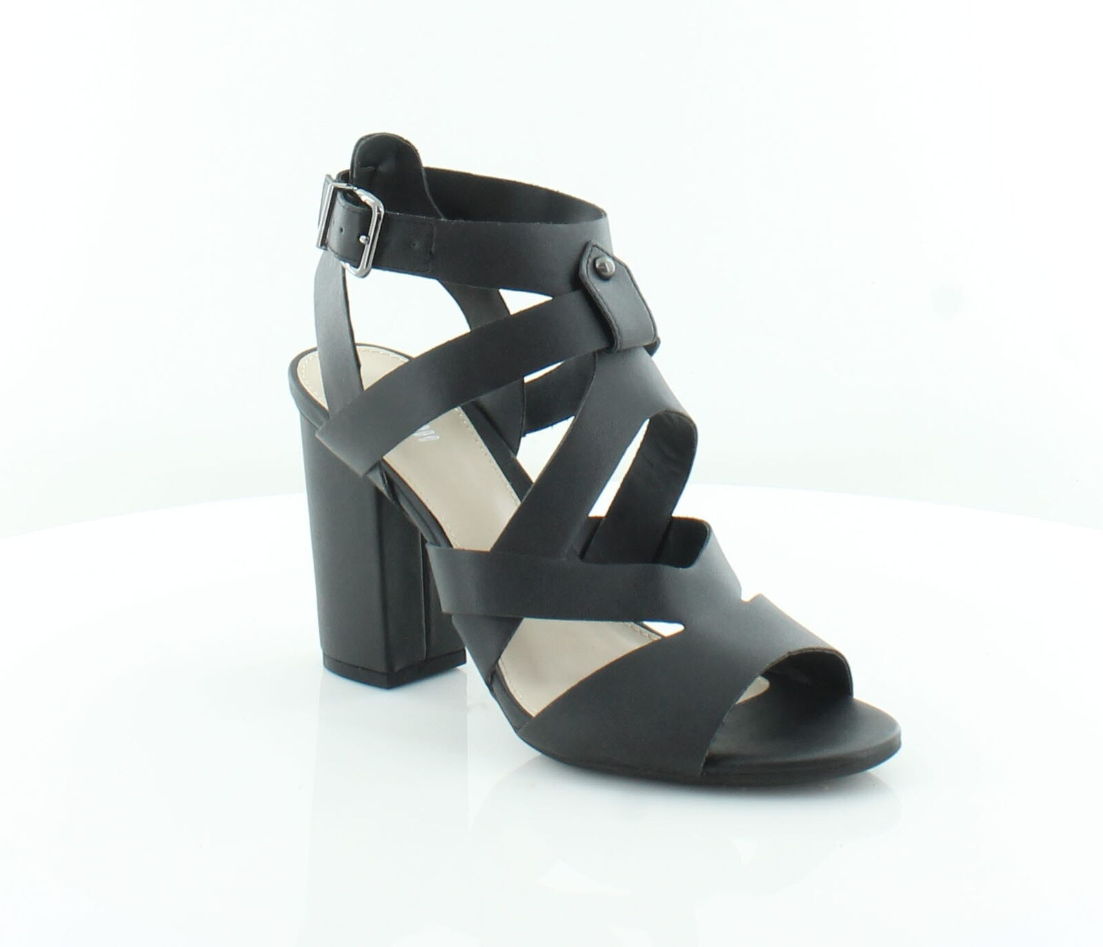 Bar III New Mae Black Womens shoes Size 8.5 M Sandals MSRP  89.99