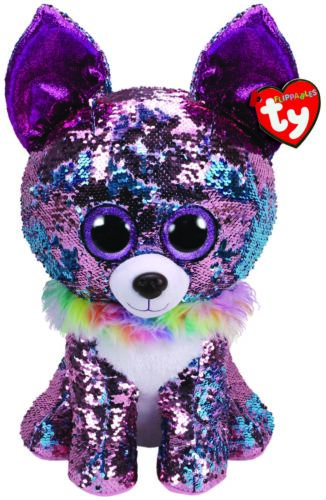 """TY BEANIE BUDDIES EXTRA LARGE 16/"""" FLIPPABLES YAPPY CHIHUAHUA PLUSH SOFT TOY"""
