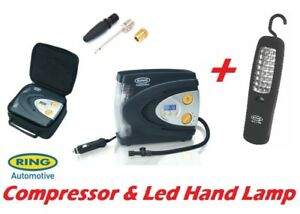 Ring-RAC630-12v-Digital-Tyre-Inflater-Air-Compressor-Auto-stop-amp-Led-Hand-Lamp