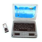Miniature laptop Dollhouse Phone Miniature Office Supplies Mobile Phone 1:12