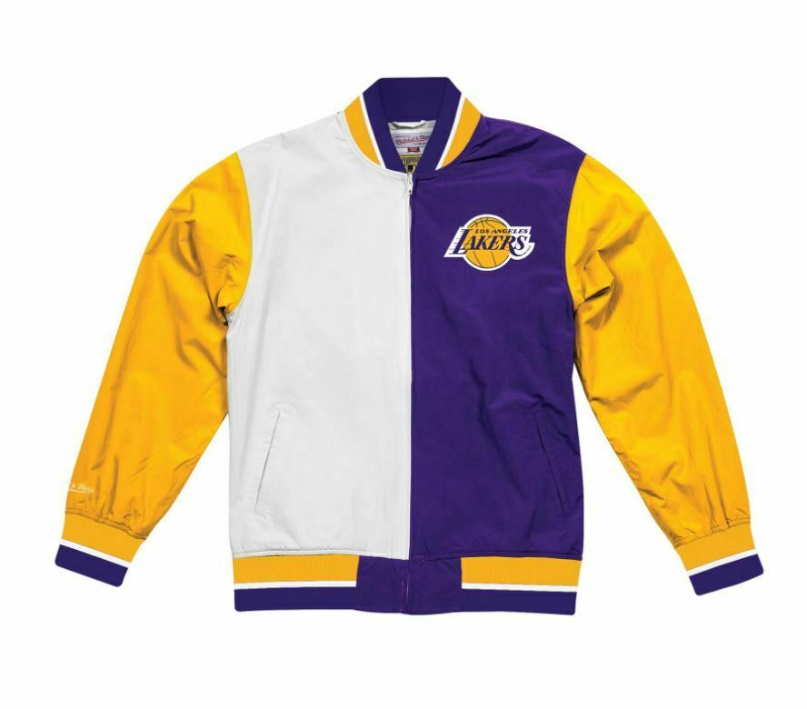 Mitchell und Ness Los Los Los Angeles Lakers Authentic Warm Up Jacket 2.0 3adc83