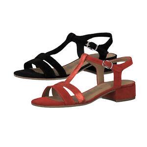 e donna Tacco da 22 sandali a di 1 sandali Tamaris 28119 con blocco pelle vUOxF1qA