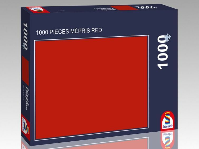 1000 PIECES MÉPRIS rot Grün Blau Gelb Orange