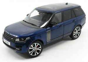 LCD-MODEL 1/18 LAND ROVER   RANGE ROVER SV AUTOBIOGRAPHY DYNAMIC 2017   BLUE