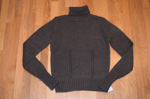Sz 100 Turtle Kvinders Nwt Uld Neck Merino Brun Sweater Da Bacca Silva 339 Xl 8AHHtPq