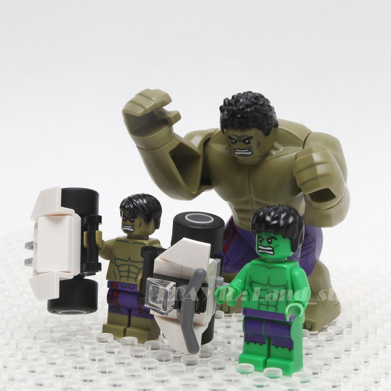 LEGO förundras Super Heroes Avengers, HULK Minifigurer 500022 503084 76031
