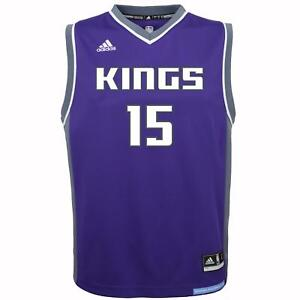 promo code 143da b3099 Details about DeMarcus Cousins Sacramento Kings Adidas NBA Replica Youth  Jersey