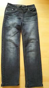 CECIL-Damen-Jeans-Gr-27-Dunkelblau-1x-getragen