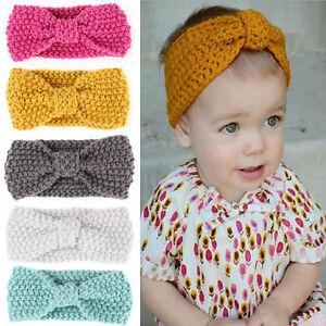wähle das Neueste Offizieller Lieferant Online kaufen Winter Kinder baby Wärmer Stirnband Häkelarbeit breite ...