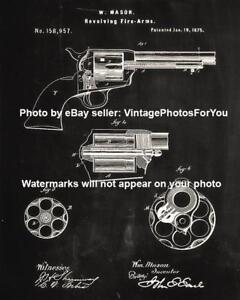 Details about Old Antique Vintage Colt Firearms Revolver Pistol Handgun  Patent Wall Art Photo