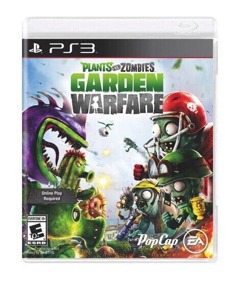 Play Station 3 PS3 Plants vs Zombies Garden Warfare (Brand new)*