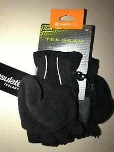 Statements 3-M Thinsulate Boy's Winter Cold Weather Warm Fleece Lined Ski Gloves