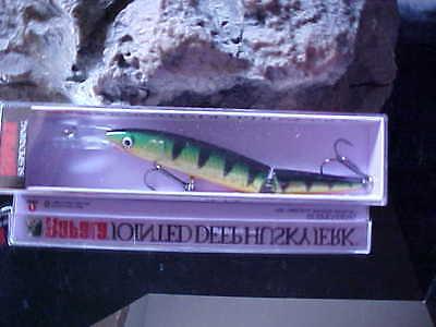 Rapala Jointed Deep Rattling Suspending Husky Jerk JDHJ-12 CLN Lure Freshwater