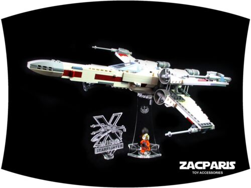 Lego 75218 X-Wing Fighter CUSTOM 3D MULTI DIRECTIONAL STAND 13 Degree angle!